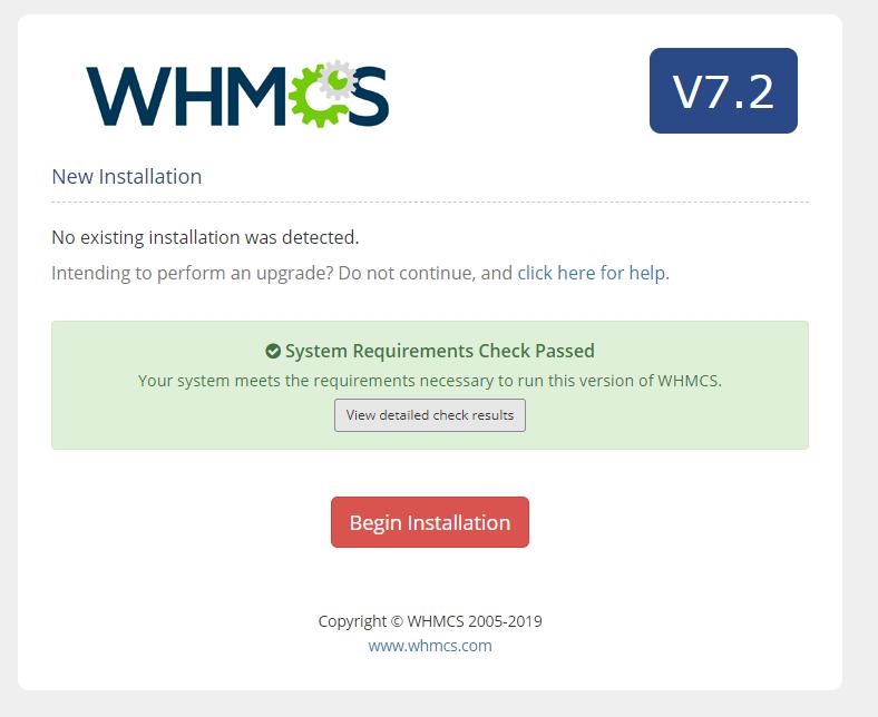 whmcs安装教程